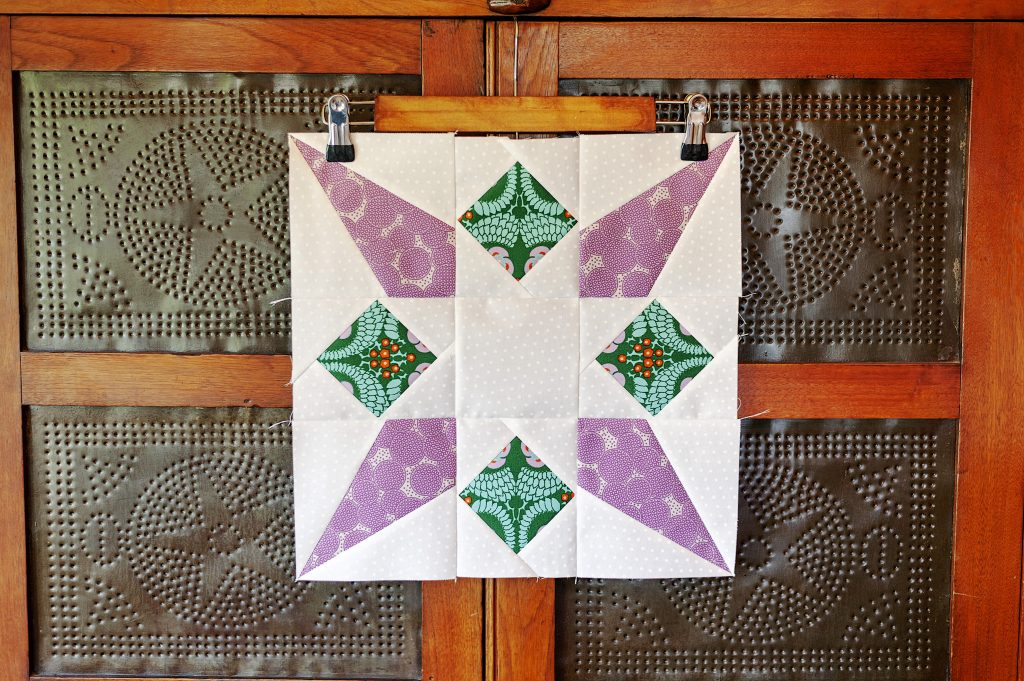 Rocket Star Quilt Block by ALC Creates