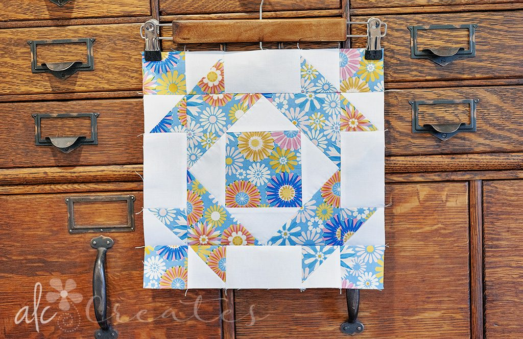 Broken Dishes Quilt Block by ALC Creates