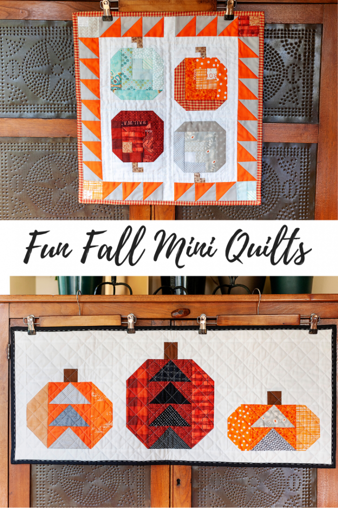 Fun Fall Mini Quilts