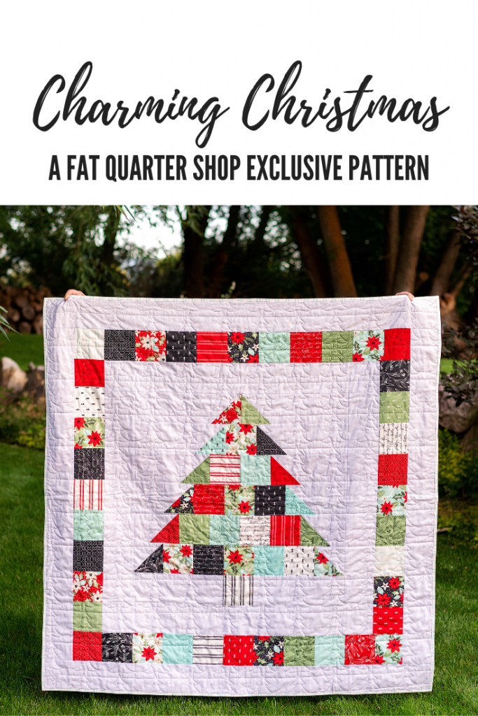 Charming Christmas Quilt by ALC Creates