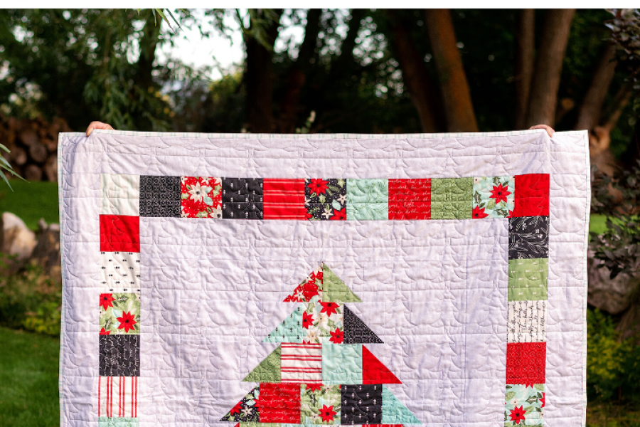 A Charming Christmas Quilt with Fat Quarter Shop