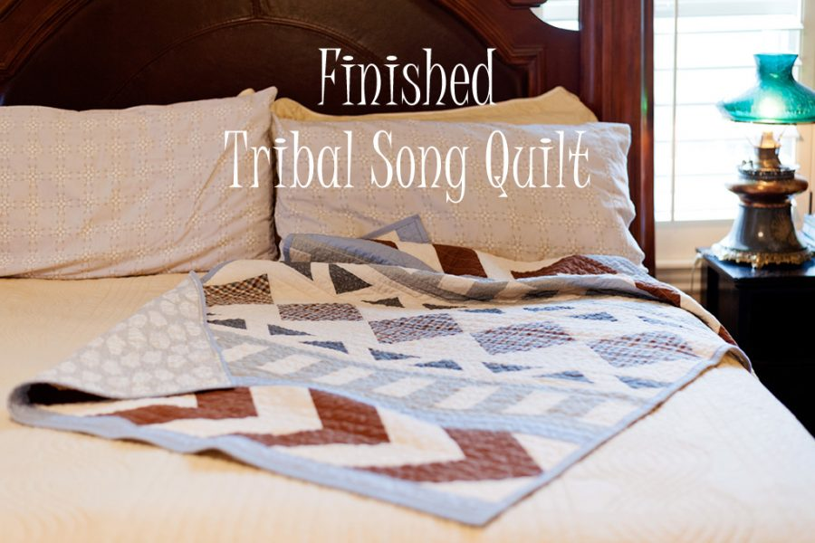 Tribal Song Quilt-Pattern Test for Lo & Behold Stitchery