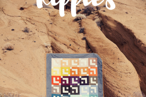 Jelly Roll Ripples-A New Fat Quarter Shop Quilt Pattern