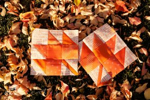 Maple Leaf Quilt Block